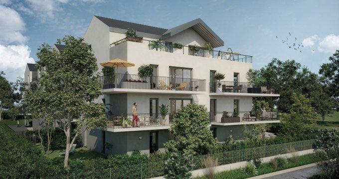Achat / Vente immobilier neuf Aix-les-Bains proche centre-ville (73100) - Réf. 6260