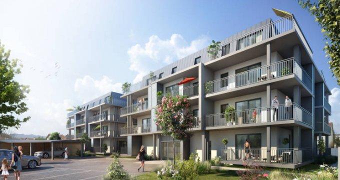 Achat / Vente immobilier neuf Aix-les-Bains proche commodités (73100) - Réf. 3977