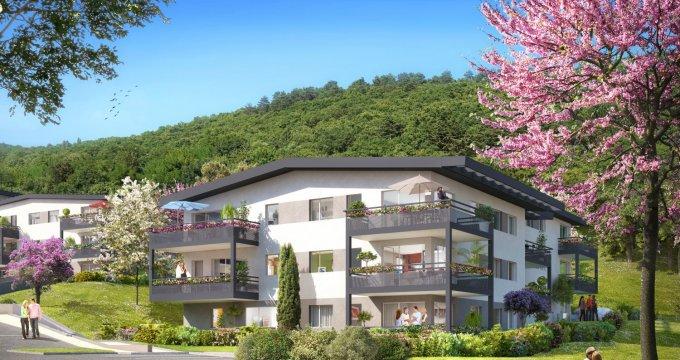Achat / Vente immobilier neuf Aix-les-Bains, un écrin de verdure proche du lac (73100) - Réf. 1934