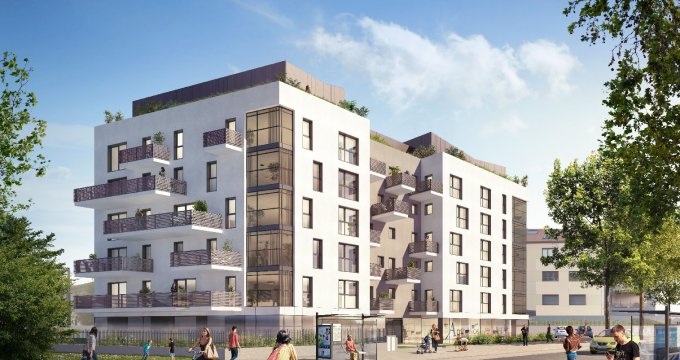 Achat / Vente immobilier neuf Annecy quartier Vallin-Fier (74000) - Réf. 1071