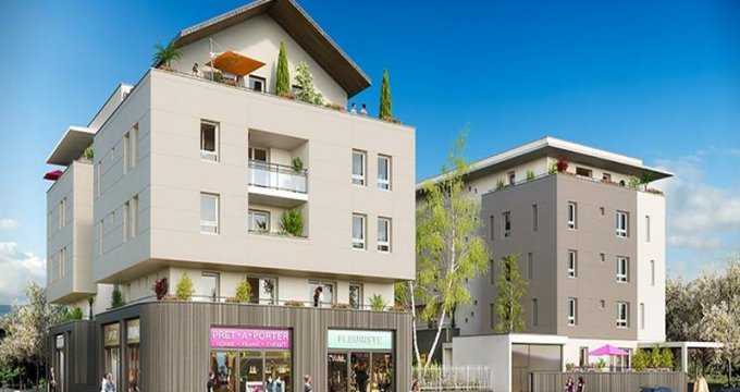 Achat / Vente immobilier neuf Barberaz proche Mairie (73000) - Réf. 1895