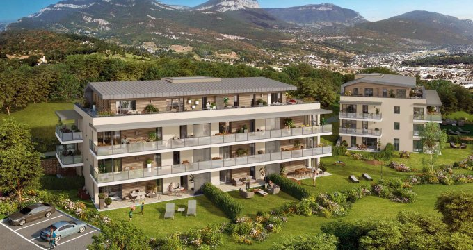 Achat / Vente immobilier neuf Bassens proche Chambéry (73000) - Réf. 2524