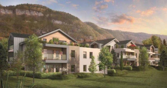 Achat / Vente immobilier neuf Beaumont proche centre (74160) - Réf. 2950