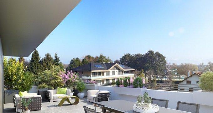 Achat / Vente immobilier neuf Divonne-les-Bains proche centre-ville (01220) - Réf. 2395