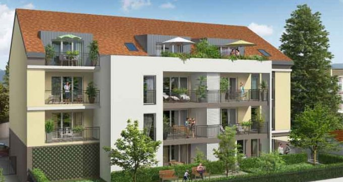Achat / Vente immobilier neuf Ferney-Voltaire centre-ville (01210) - Réf. 3631