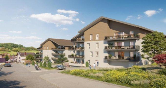 Achat / Vente immobilier neuf Frangy à mi-chemin entre Annecy et Genève (74270) - Réf. 5441