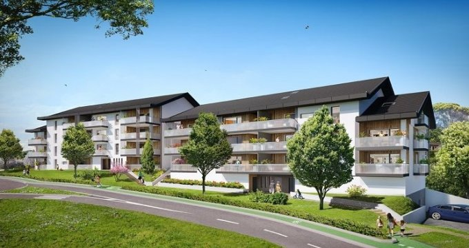 Achat / Vente immobilier neuf La Balme de Sillingy au calme à proximité du bourg (74330) - Réf. 1140
