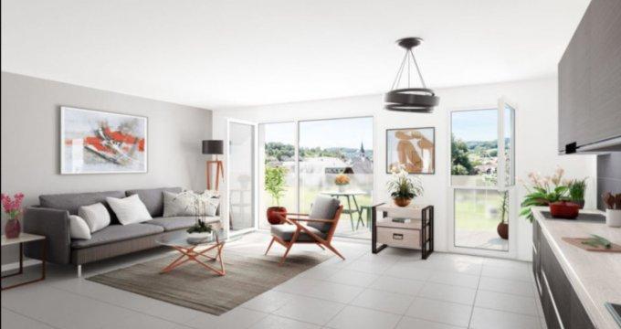 Achat / Vente immobilier neuf La Balme-de-Sillingy au pied des montagnes (74330) - Réf. 2873