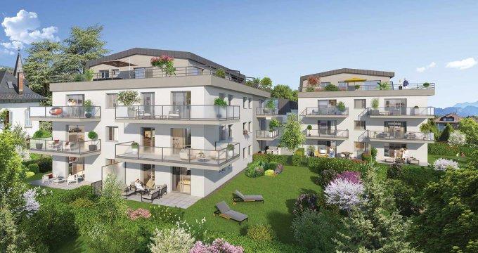 Achat / Vente immobilier neuf la Roche sur Foron en lisière du centre-ville (74800) - Réf. 2671