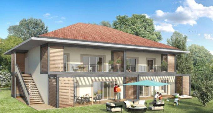 Achat / Vente immobilier neuf Lathuile hameau de Chaparon (74210) - Réf. 3100