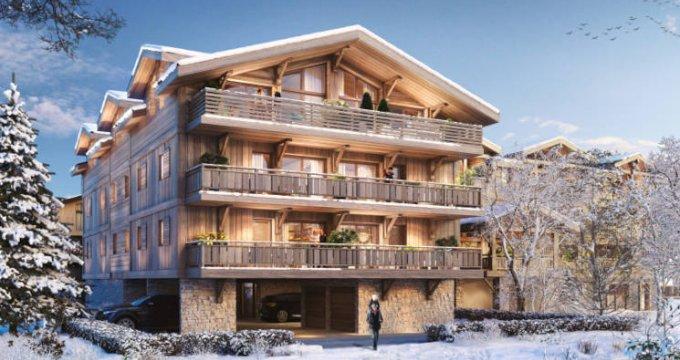 Achat / Vente immobilier neuf Les Gets proche coeur de ville (74260) - Réf. 5918