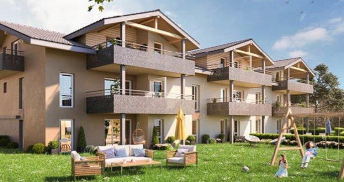 Achat / Vente immobilier neuf Margencel à 5 minutes du centre (74200) - Réf. 2927