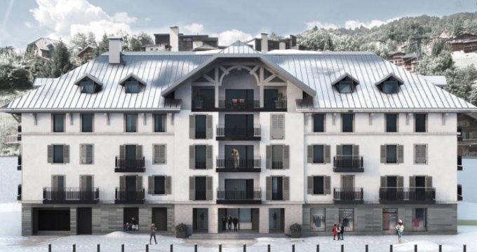Achat / Vente immobilier neuf Saint-Gervais-les-Bains au pied de la télécabine du Bettex (74170) - Réf. 3013