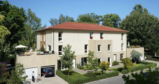 Achat / Vente immobilier neuf Saint-Maurice-de-Beynost 15 kilomètres de Lyon (01700) - Réf. 2223