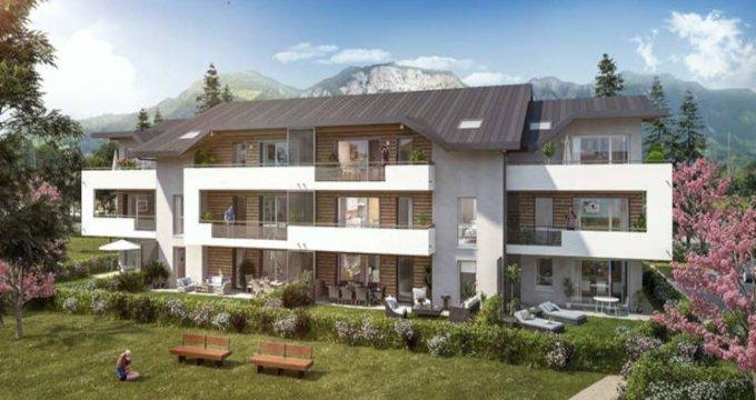 Achat / Vente immobilier neuf Saint-Pierre-en-Faucigny proche complexe sportif (74800) - Réf. 3167