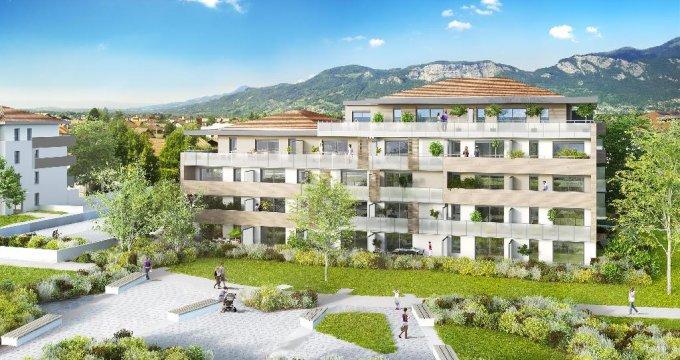 Achat / Vente immobilier neuf Saint-Pierre-en-Faucigny proche gare SNCF (74800) - Réf. 3655