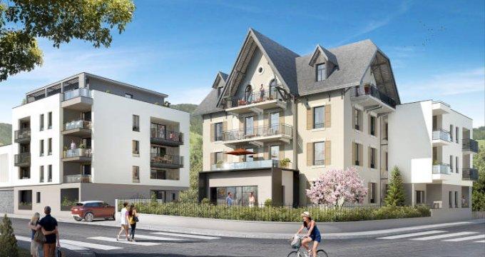 Achat / Vente immobilier neuf Sallanches à deux pas de la gare (74700) - Réf. 3687