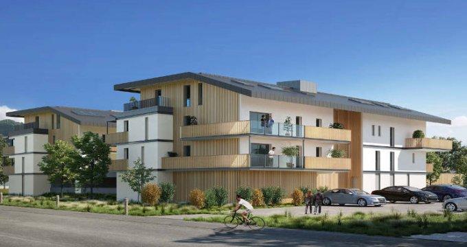 Achat / Vente immobilier neuf Sallanches cœur quartier pavillonnaire (74700) - Réf. 3089