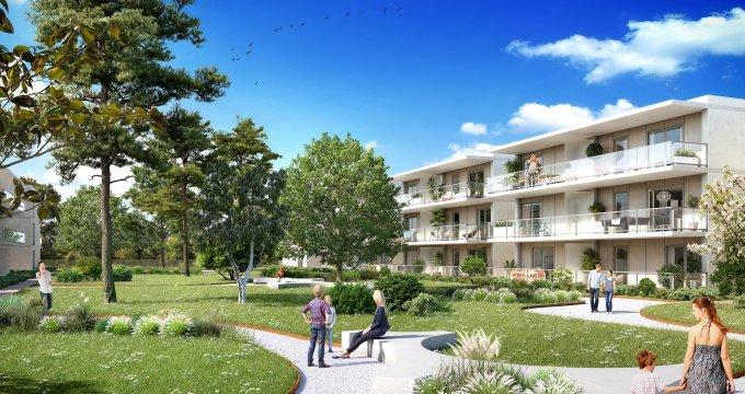Achat / Vente immobilier neuf Thonon-les-Bains quartier résidentiel à 2 minutes du centre (74200) - Réf. 404