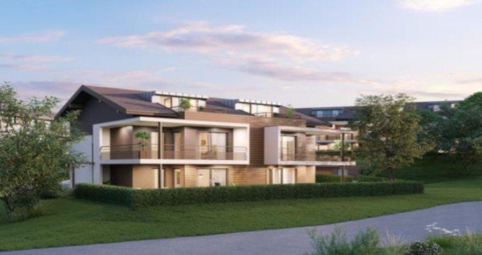 Achat / Vente immobilier neuf Villy-le-Pelloux proche Annecy (74350) - Réf. 3955
