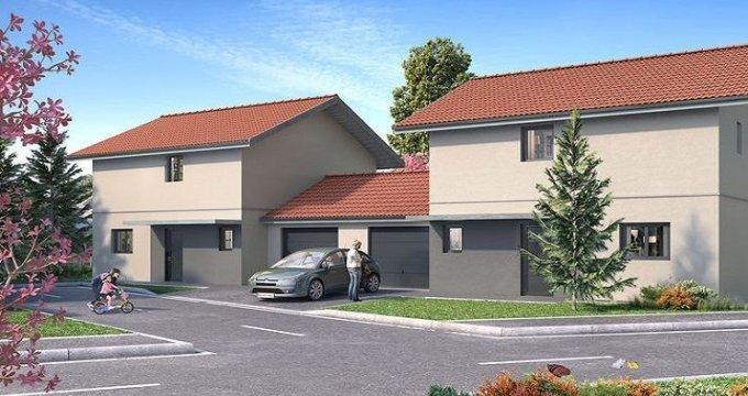 Achat / Vente immobilier neuf Vulbens villas mitoyennes au cœur du village (74520) - Réf. 1136