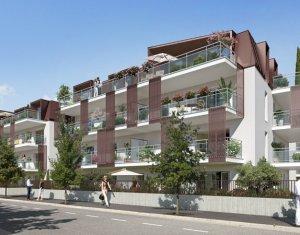 Achat / Vente immobilier neuf Aix-les-bain à proximité du petit port de la ville balnéaire (73100) - Réf. 1126