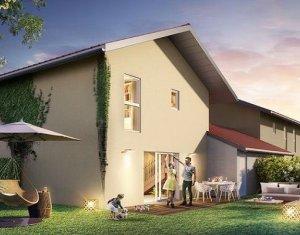 Achat / Vente immobilier neuf Allinges villas mitoyennes au cœur du village (74200) - Réf. 1125