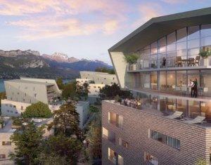 Achat / Vente immobilier neuf Annecy face au lac (74000) - Réf. 909