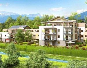 Achat / Vente immobilier neuf Annecy-le-Vieux face à la forêt (74940) - Réf. 1063