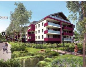 Achat / Vente immobilier neuf Annemasse proche transports et commerces (74100) - Réf. 2182