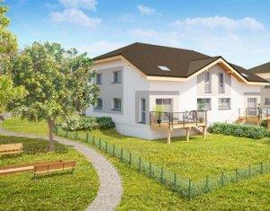 Achat / Vente immobilier neuf Ballaison vue sur lac Léman (74140) - Réf. 153