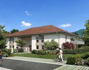 Achat / Vente immobilier neuf Beaumont au cœur du quartier La Châble (74160) - Réf. 4828