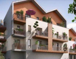 Achat / Vente immobilier neuf Bonneville écoquartier du château des Sires de Faucigny (74130) - Réf. 2961