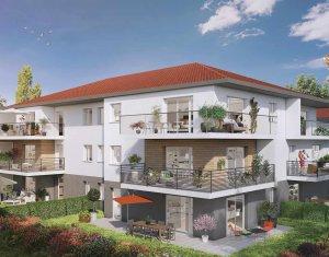 Achat / Vente immobilier neuf Bons en chablais proche de la gare (74890) - Réf. 2674