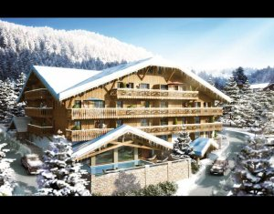 Achat / Vente immobilier neuf Châtel Domaine des portes du Soleil (74390) - Réf. 734