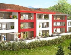 Achat / Vente immobilier neuf Contamine-sur-Arve ambiance nature proche du CHAL et des grands axes (74130) - Réf. 1113