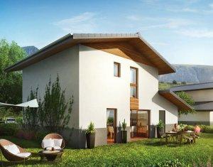 Achat / Vente immobilier neuf Domancy avec vue sur le Mont-Blanc (74700) - Réf. 1141