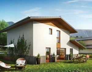 Achat / Vente immobilier neuf Domancy villas mitoyennes au cœur du village (74700) - Réf. 1493