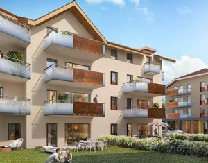 Achat / Vente immobilier neuf Faverges Seythenex proche lac d'Annecy (74210) - Réf. 2267