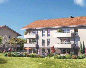 Achat / Vente immobilier neuf Larringes au cœur du Hameau de Verossier, à 4km d'Evian (74500) - Réf. 1293