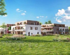 Achat / Vente immobilier neuf Ornex proche Lac Leman (01210) - Réf. 140
