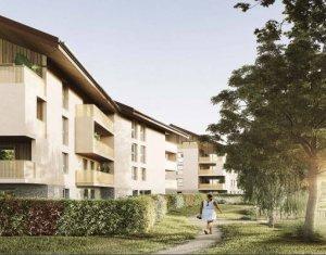 Achat / Vente immobilier neuf Poisy environnement paisible et naturel (74330) - Réf. 5233