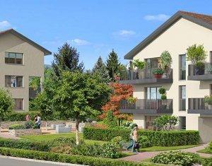 Achat / Vente immobilier neuf PREVESSIN MOENS proche parc du chateau (01280) - Réf. 1560