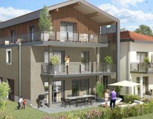 Achat / Vente immobilier neuf Saint-Julien-en-Genevois résidence de charme aux portes de la Suisse (74160) - Réf. 925