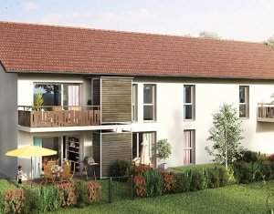 Achat / Vente immobilier neuf Saint-Martin-Bellevue proche d'Annecy (74370) - Réf. 1811