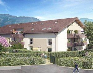 Achat / Vente immobilier neuf Saint-Pierre-en-Faucigny proche gare (74800) - Réf. 5914