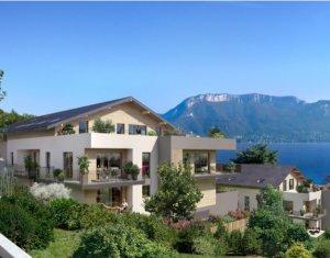 Achat / Vente immobilier neuf Sevrier proche du lac d'Annecy (74320) - Réf. 627