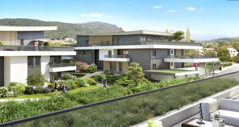 Achat / Vente immobilier neuf Aix-les-bains au cœur du secteur Le Cluset (73100) - Réf. 4386