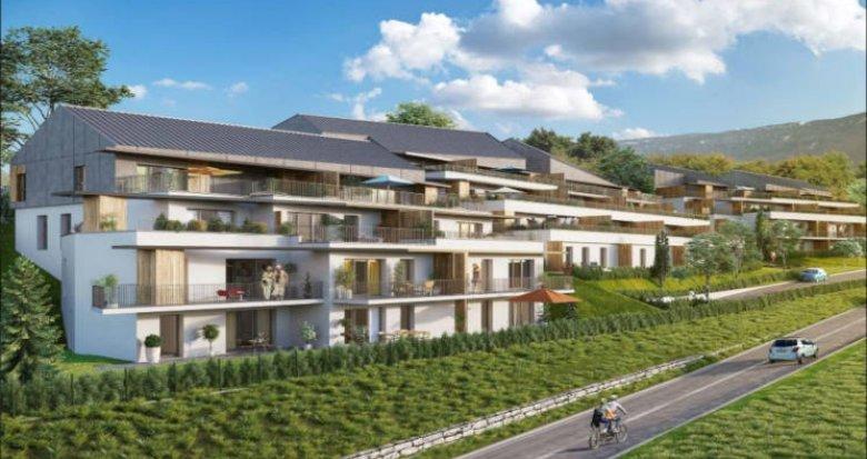 Achat / Vente immobilier neuf Aix-les-Bains proche centre-ville (73100) - Réf. 2745