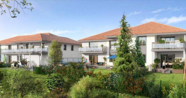 Achat / Vente immobilier neuf Amancy proche commerces et écoles (74800) - Réf. 4417